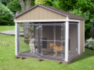 8 x 8 Medium Double Kennel
