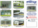 Certified Pre-Manufactured Metal Buildings Carports, Garages and Barns