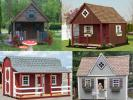 Custom Order a Child's Playhouse from Pine Creek Structures of Egg Harbor