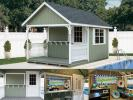 Custom Order a Poolside Snack Shed from Pine Creek Structures of Elizabethtown