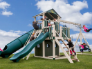 CLICK to get more information and photos of this Martinsburg WV, Vinyl Swing Set